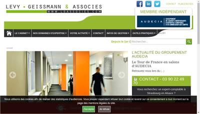 Site internet de Levy-Geissmann & Associes