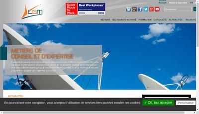 Site internet de Lgm