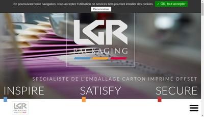 Site internet de Rey Emballages