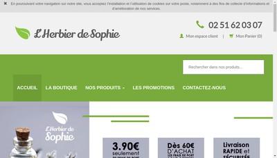 Site internet de L'Herbier
