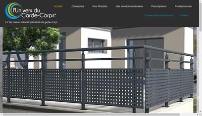 Site internet de Lhm Aluminium Concept