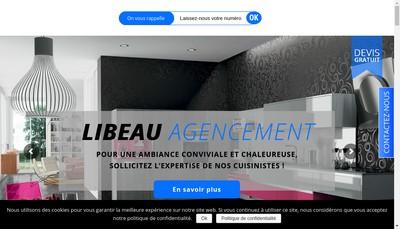 Site internet de Libeau Agencement