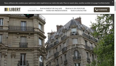 Site internet de Libert et Cie