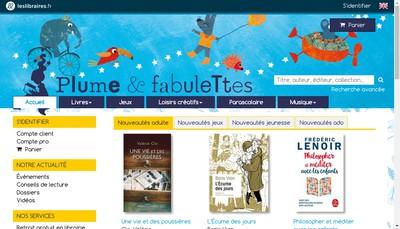 Site internet de Plume et Fabulettes