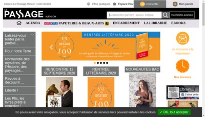Site internet de Le Passage