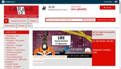 Site internet de Librairie Ravy