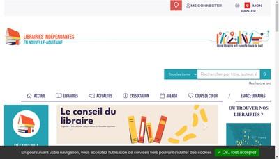 Site internet de La Maison Bleue