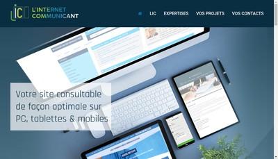 Site internet de L'Internet Communicant