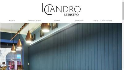 Site internet de Licandro le Bistro