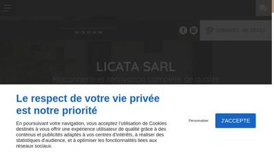 Site internet de Licata