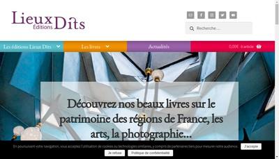 Site internet de Lieux Dits - Comme l'Air - Mondialivre
