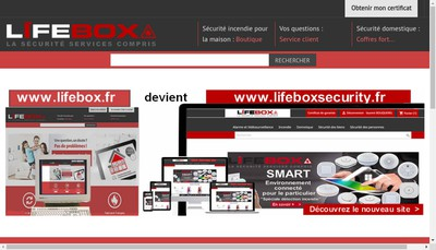 Site internet de Lifebox
