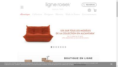 Site internet de Ligne Roset