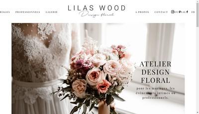 Site internet de Lilas Wood