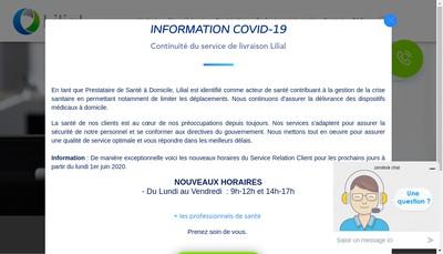 Site internet de Lilial