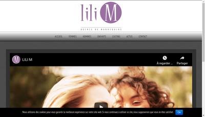 Site internet de Lili M
