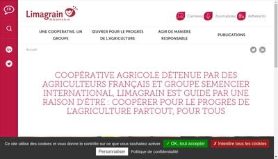 Site internet de Societe Coop Agricole Vallee Rhone Valgrain