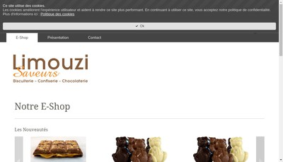 Site internet de Limouzi Saveurs