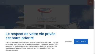 Site internet de Limpar Net