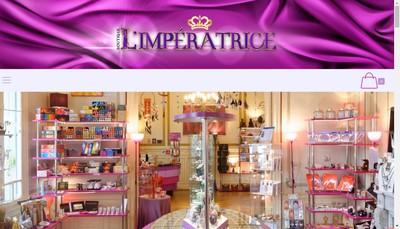 Site internet de L'Imperatrice