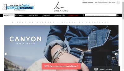 Site internet de Linea Chic