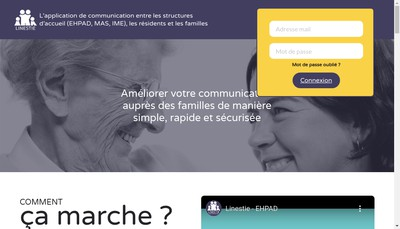 Site internet de Linestie