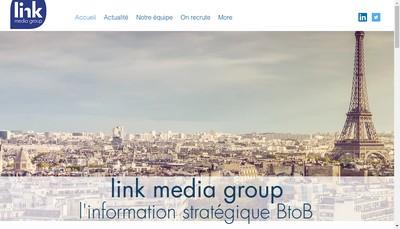 Site internet de Link Media Group