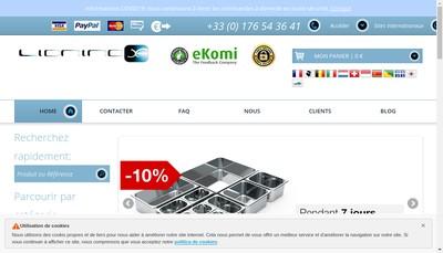 Site internet de Lioninox