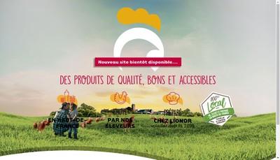 Site internet de Societe Lionor SA