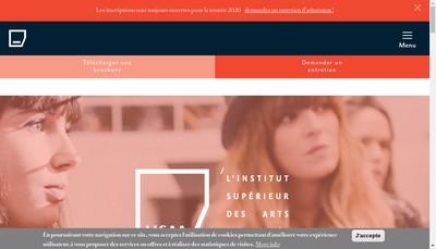 Site internet de Institut de Developpement des Arts Appliques