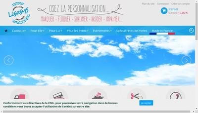 Site internet de SARL Lisasys