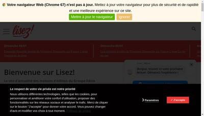 Site internet de Societe du Cherche Midi