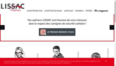 Site internet de Lissac