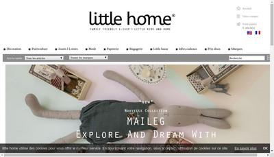 Site internet de Little Home