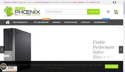 Site internet de Little Phoenix