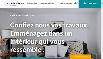 Site internet de Little Worker