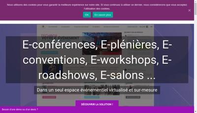 Site internet de Webcast Fr - Webinar Fr - Videoconf Fr - Webconf Fr - Visioconf Fr