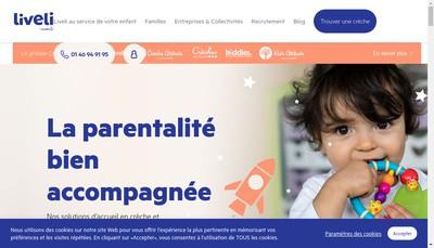 Site internet de Creche Attitude Etienne