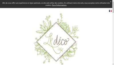 Site internet de Lkdeco