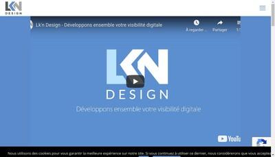 Site internet de Lk'N Design