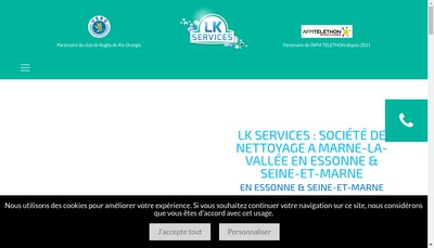 Site internet de Lk Services