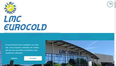Site internet de LMC -Eurocold Services
