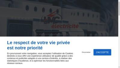 Site internet de Lmc Electricite