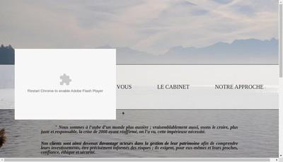 Site internet de Cabinet Lm & Co Gestion Privee