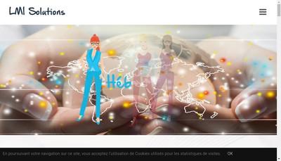 Site internet de LM INFORMATIQUE