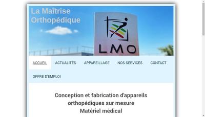 Site internet de La Maitrise Orthopedique