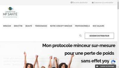 Site internet de Laboratoires Martin Privat Sante
