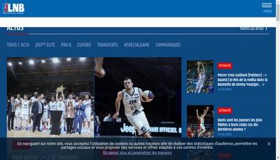 Site internet de LNB