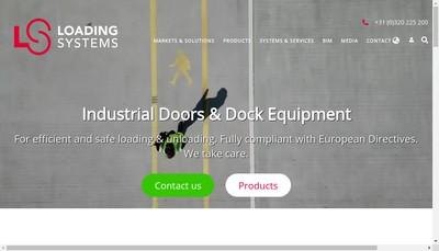 Site internet de Loading Systems France SA