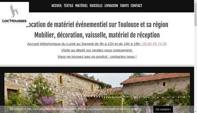 Site internet de Loc Housses